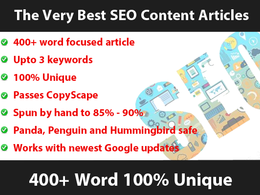 Write one 400+ word spun with spintax article optimised for best SEO & high rankings