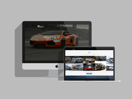 Design a responsive 6 page website