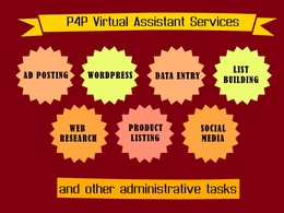 Be your professional Virtual Assistant to do your tasks or projects for 2 hours