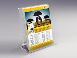 Design one side flyer