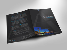 Design an attractive, bespoke 4-page brochure