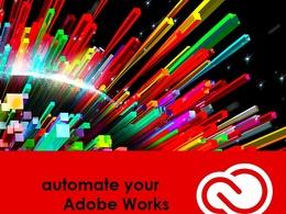 Develop Adobe InDesign or Illustrator or Photoshop -  Scripts | CC Extension | JSX