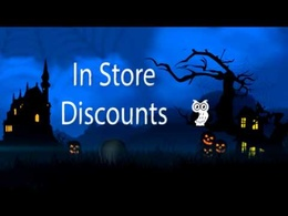 Create this 1 Minute customized Halloween Event promotional video