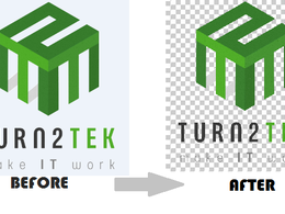 Convert any image/logo into transparent background in minutes