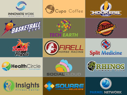 Design 3 professional conceptual logo with unlimited revisions with in 24 hours