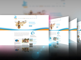 Do web layout psd desing for any website