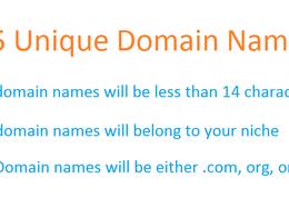 Suggest 25 unique domain names