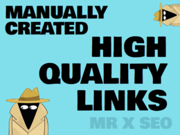 Increase your SEO with manually created, high quality link building