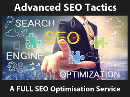 Create an optimised SEO campaign, onsite optimisation & backlinks to rank on PAGE 1