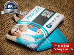 Design best professional (3 concept deisgn) business card with unlimited revision