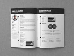Design a stand out resume or cv plus cover letter