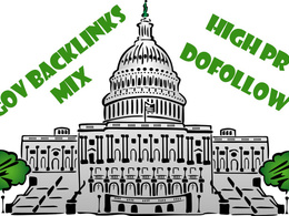 Build powerful GOV backlinks Mix with PR9's included
