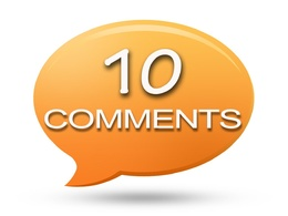 Add 10 relevant Blog or Website comments