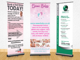 Design you a promotional/roller banner