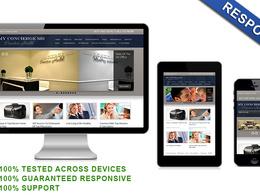 Develop 10 Pages Responsive Wordpress Website