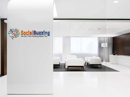 Embed your logo onto these 3 business rooms - Rocket your Social Media and Website.