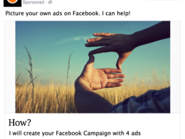 Set up your Facebook ads to get likes, visits or sales according to your needs