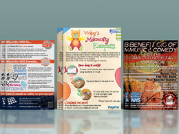 Design you an original and eye-catching flyer
