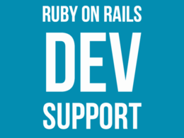 Provide 4 hours of Ruby on Rails support