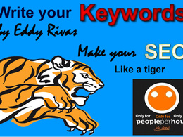 Write your keywords for your web site