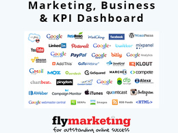 Setup your business and marketing KPI Dashboard
