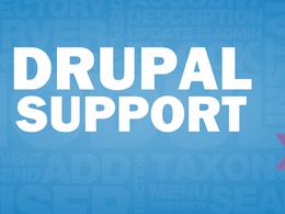 Provide Drupal support