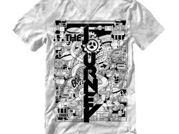 Design EXCLUSIVELY doodle illustration for t-shirt