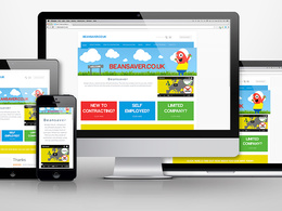 Build you a brand new responsive 5 page WordPress website