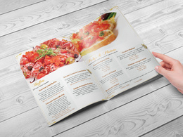 Design your Restaurant or Bar Menu