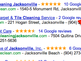 Give your Google business page/places five star Google Reviews