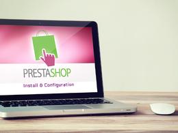 Install Prestashop + theme & plugins install + basic configuration
