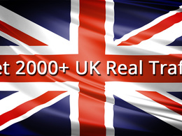 Send 2000+ real UK traffic