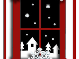 Create a beautiful Christmas card  or new year greetings card or banner