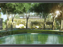 Design your garden landscape, give POQ and realistic visualization render