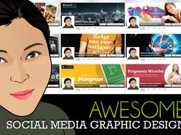 Design social media cover image