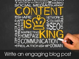Write an article or blog post for you (400 words min)