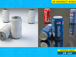 3d model and render your product  in 3ds max and Maya for 3d printing