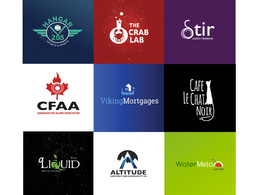 Create a professional creative vector Logo with unlimited concepts and revisions