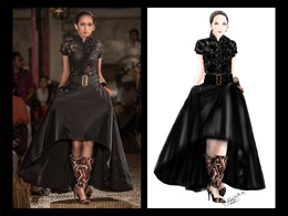 Create fashion sketch / illustration based on your picture