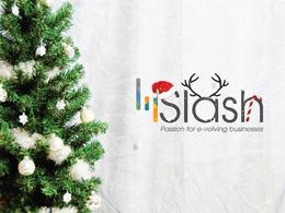 Give your logo Christmas Theme