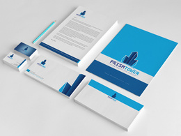 Design your Stationary Package- Business card, Letterhead and  Envelop