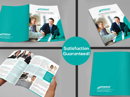 12 Page Brochure, catalog, magazine, booklet design