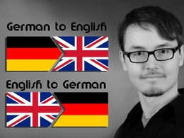 Translate English to German and viceversa within 24h