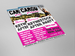 Design your A5 event or promotional flyer (single sided)