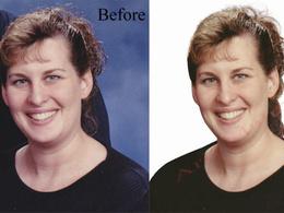 Edit hair mask 10 images