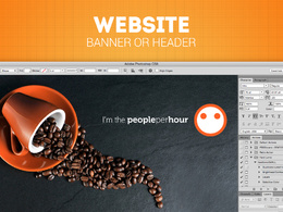 Design Web Banner, FB or G+ Cover, Youtube Channel Art