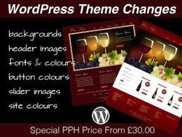 Modify the design of your WordPress theme and customise it to your requirements