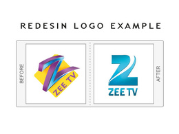 Redesign your logo in a modern way