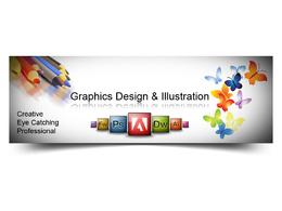 Design an awesome web benner/slider or timeline cover for your facebook/blog/website
