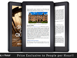 Design and format your eBook for publishing to Kindle/Nook/Kobo